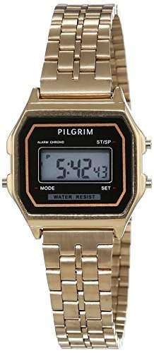 Pilgrim Damen-Armbanduhr Digital Automatik Edelstahl 701542020