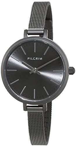 Pilgrim Damen-Armbanduhr Analog Quarz Edelstahl 701543000