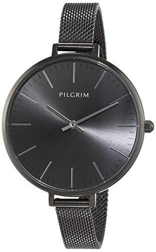 Pilgrim Damen-Armbanduhr Analog Quarz Edelstahl 701543010