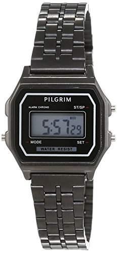 Pilgrim Damen-Armbanduhr Digital Automatik Edelstahl 701543020