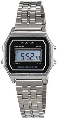 Pilgrim Damen-Armbanduhr Digital Automatik Edelstahl 701546020