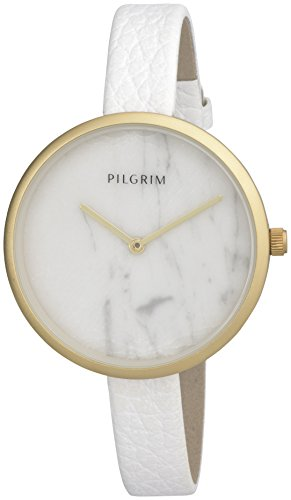 Pilgrim Damen Armbanduhr Analog Quarz Leder 701612030