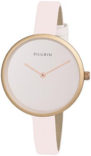 Pilgrim Damen Armbanduhr Analog Quarz Leder 701614030