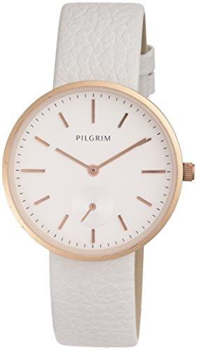 Pilgrim Damen Armbanduhr Analog Quarz Leder 701614040