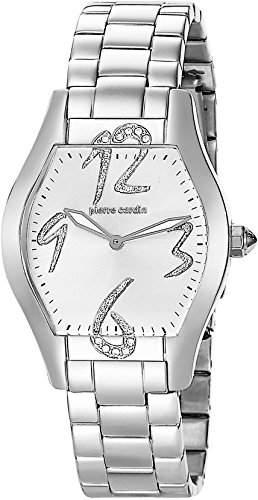 Pierre Cardin Damen-Armbanduhr Croquis Modernes Analog Quarz Edelstahl PC105082S05