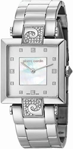 Pierre Cardin Damen-Armbanduhr Etre Envie Grande Analog Quarz Edelstahl