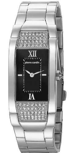 Pierre Cardin Damen-Armbanduhr Extravagance Analog Quarz Edelstahl PC104952F07