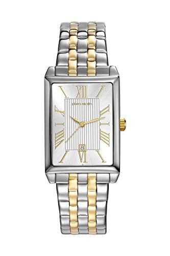 Pierre Cardin Armbanduhr Damenuhr Quarz Uhr PC-Belneuf - Analoge Uhr mit Datum, silbernem Edelstahlarmband und silbernem Zifferblatt - 30m3atm - PC107212F14