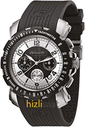 Pierre Cardin cp100171 F02 Uhr Quarzsand Ritter Kautschuk Armband