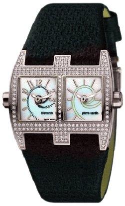 Pierre Cardin Damen Armbanduhr Diamonds Collection Vis a vis Femme PC100112D02