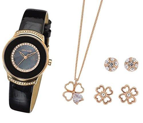 Pierre Cardin Damen Schmuck Set mit Armbanduhr PCX312L212