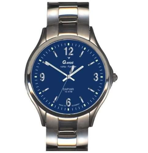 Garde Uhren aus Ruhla Funkuhr mit Saphirglas Herrenuhr 111-26M