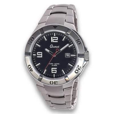 Gardé Sport - Uhr - schwarzsilberfarben
