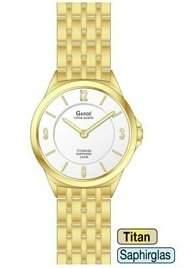 Gardé Uhren aus Ruhla Damen Uhr Titan Saphirglas Elegance 21486