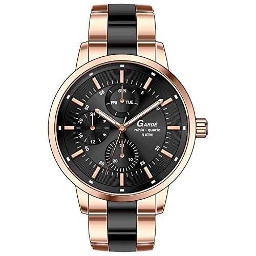 Garde Uhren aus Ruhla Damenuhr Multifunktion Elegance 22841