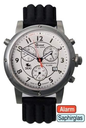 Garde Uhren aus Ruhla Herrenuhr Chronograph mit Alarm DIXI Limitiert 41-41