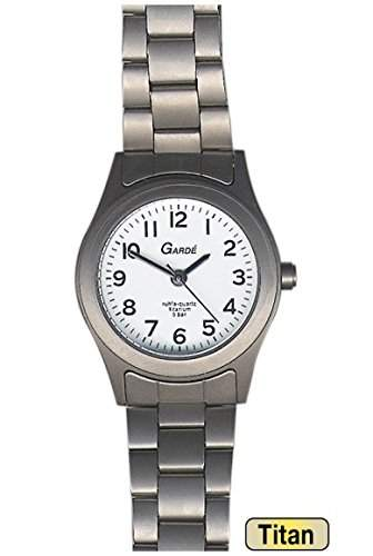 Garde Uhren aus Ruhla Damenuhr Titan Elegance 7190-3