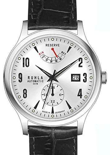 Garde Uhren aus Ruhla RUHLA Automatik Herrenuhr 91326 mit Gangreserven Anzeige
