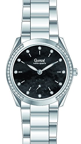 Garde Uhren aus Ruhla Edelstahl Elegance 21864 Perlmutt Zifferblatt