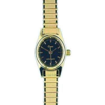 Uhr Analog Quarz Edelstahl Metall gold