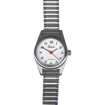 Uhr Analog Quarz Metall Metall silber