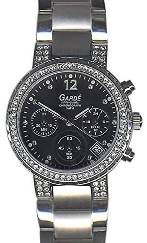 Garde Ruhla Uhr Chrono 21593 Damenuhren Lumi Chronograph
