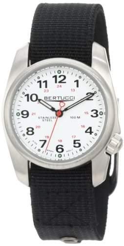 Bertucci Herren 10011 A-1S Durable Stainless Steel Field Armbanduhr