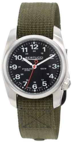 Bertucci Herren 10112 A-1S Durable Stainless Steel Field Uhr