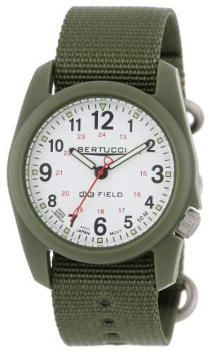 Bertucci Herren 11019 Durable Poly Resin Field Armbanduhr