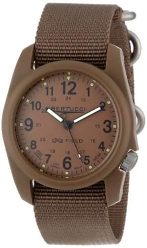 Bertucci Herren 11021 Durable Poly Resin Field Armbanduhr