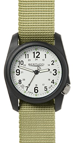 Bertucci 11038 Unisex Patrol gruen Nylon Band weiss Zifferblatt Smart Watch