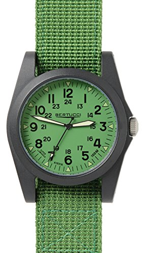 Bertucci 13360 Unisex Polycarbonat Jungle Gruen Nylon Band Jungle Gruen Zifferblatt Smart Watch