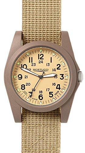 Bertucci 13361 Unisex Polycarbonat Patrol Khaki Nylon Band Patrol Khaki Zifferblatt Smart Watch