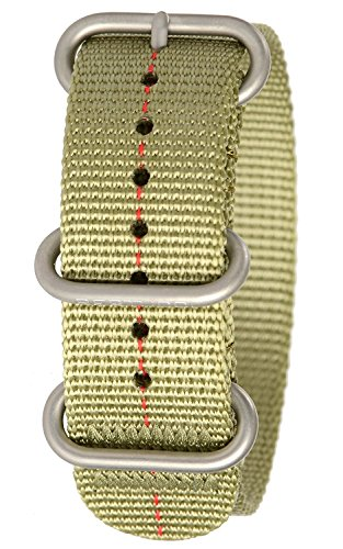 Bertucci b 180 DX3 Herren Patrol gruen rot Dash Nylon Smart Watch Band