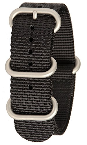 Bertucci b 211 N G10 Herren Armbanduhr schwere Nylon Smart Watch schwarz Band