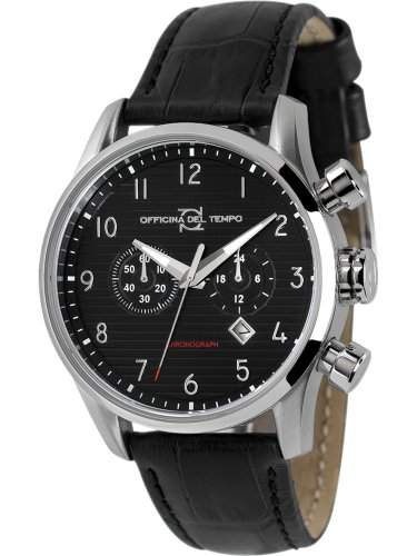 Officina del Tempo Style Minimal Chronograph Datum OT1033110N