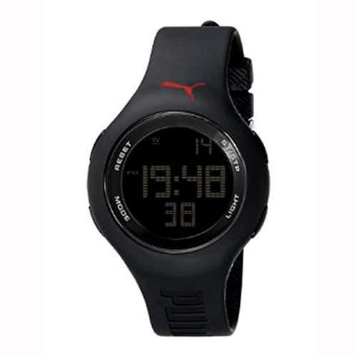 Puma Unisex Armbanduhr Loop Digital in Schwarz