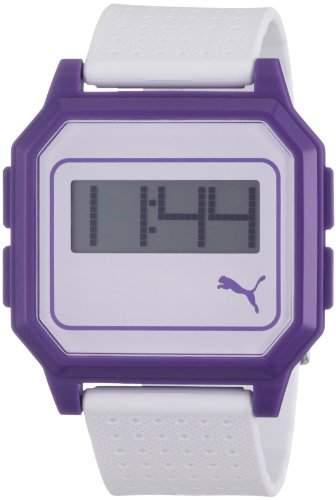 Puma Time Active Damen-Armbanduhr Flat Screen Digital Plastik APU910951007