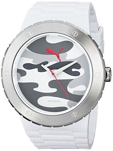 Puma Time Blast L Camo Analog Quarz Kautschuk PU103331004