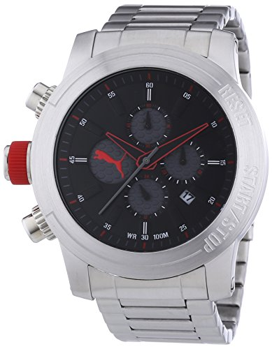 PUMA TIME XL IMPULS Chronograph Quarz Edelstahl PU103791001