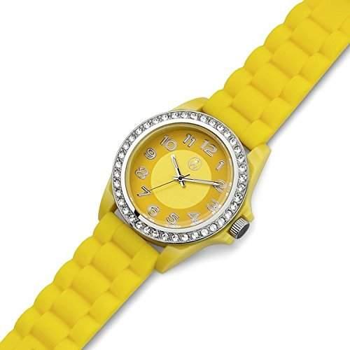Oliver Weber 0141 YEL Uhr Funky gelb