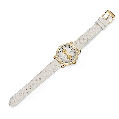 Oliver Weber Uhr Murcia white with Crystals from Swarovski Damen