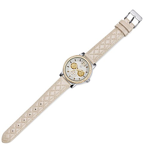 Oliver Weber Uhr Murcia beige with Crystals from Swarovski Damen
