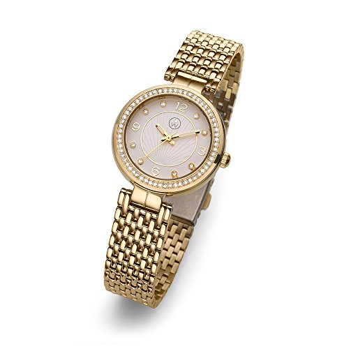 Oliver Weber Uhr Perugia gold with Crystals from Swarovski Damen