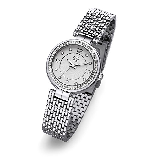 Oliver Weber Uhr Perugia silver with Crystals from Swarovski Damen