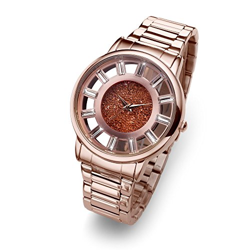 Oliver Weber Uhr Reims rosegold with Crystals from Swarovski Damen