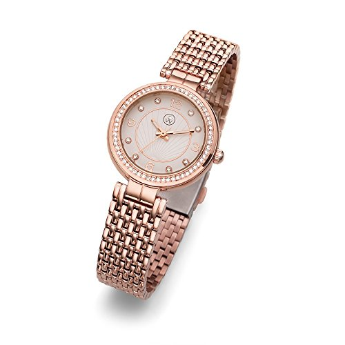 Oliver Weber Uhr Perugia rosegold with Crystals from Swarovski Damen