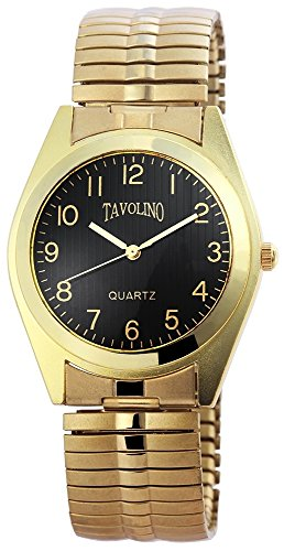 Tavolino Uhr watch Armbanduhr mit Metallzugband 200401000051