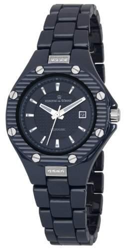 Herzog & Soehne Damen-Armbanduhr XS Analog Quarz Keramik HSV01-033