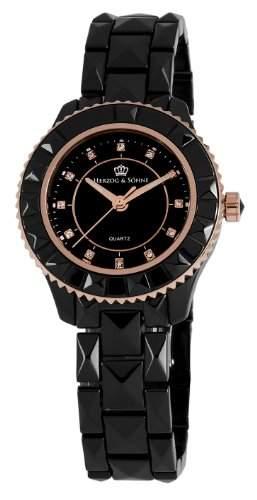 Herzog & Soehne Damen-Armbanduhr XS Analog Quarz Keramik HSW0A-622C